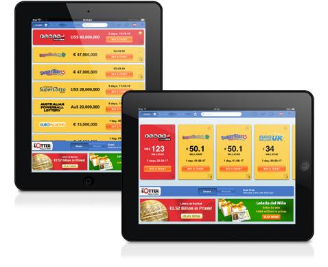 ผลการออกรางวัลลอตเตอรี่สำหรับ iPad ของ TheLotter – แอป HD
