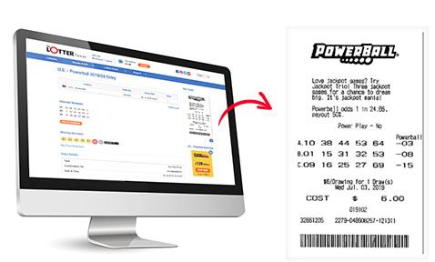 ticket scanné