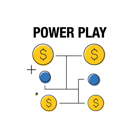 Opțiunea de multiplicare Power Play