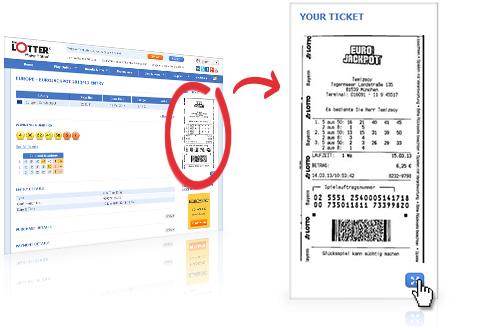 Dove posso vedere il mio biglietto?