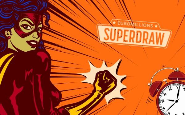 欧洲百万超级大抽彩EuroMillions Superdraw又回来了!