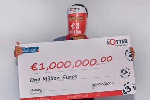 Nosso jogador sul-coreano ganha um prêmio de € 1 milhão na EuroMilhões!