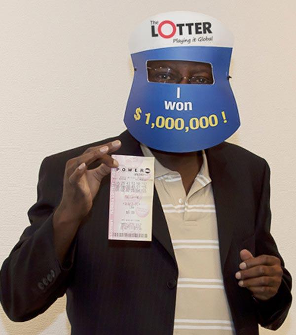 Jogadores de loteria britânicos ganham o prêmio de $ 1 milhão da Powerball