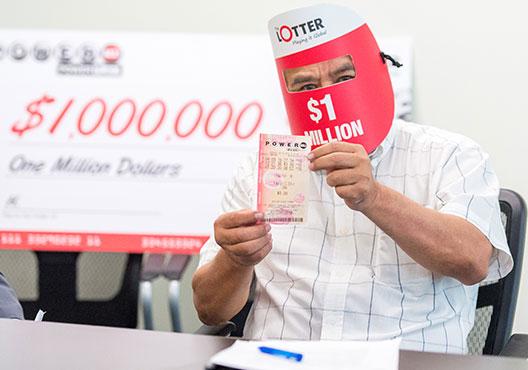 O jogador que se sentiu como (e ganhou) um milhão de dólares!