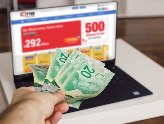 Lukuisat kanadalaiset liittyvät theLotterille pelatakseen amerikkalaisia lottoja verkossa