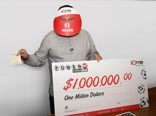 Mężczyzna z Kanady wygrał 1 milion dolarów grając w Powerball USA na theLotter