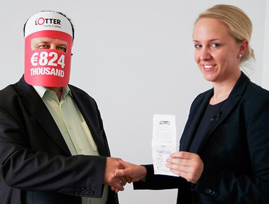 С.К. победитель Лото Австрии