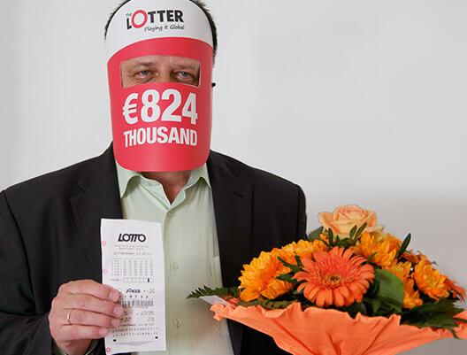 Si gana la lotería, debe reclamar de manera pública