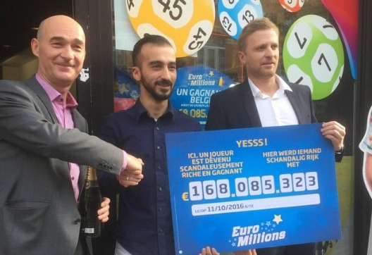 Belgian store owner sells winning EuroMillions lottery ticket