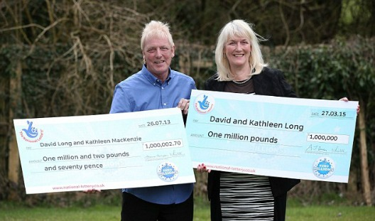 Lottery luck can strike twice