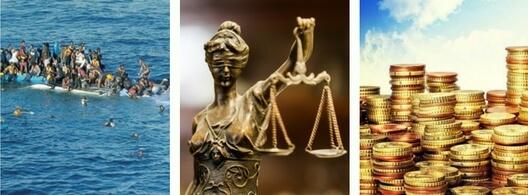 La justicia de ganarse un premio de lotería