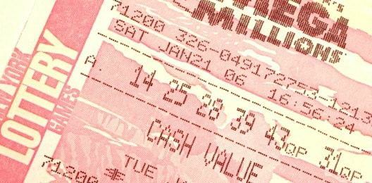 Ticket loterie Mega Millions Megaplier