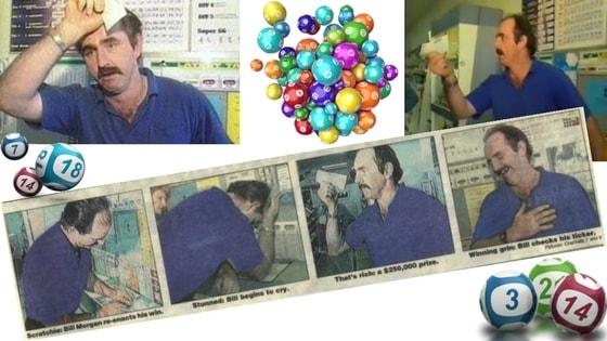 Bill Morgan lottery winner