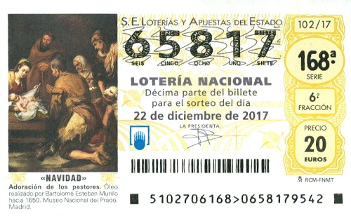 Kupongförsäljning till Loteria de Navidad har startat!