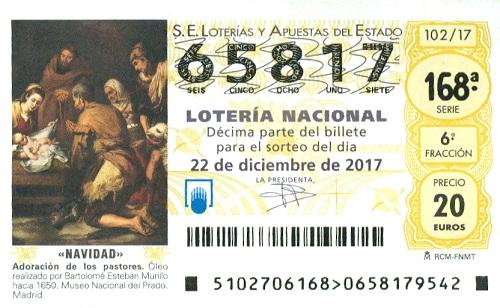 Elkezdődött a Loteria de Navidad szelvények értékesítése!