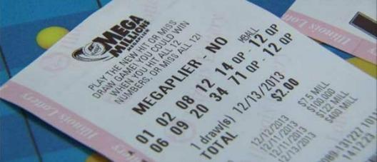 bilhete da loteria Mega Millions