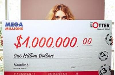 Nataliia de Ucrania gana $1 millón en el Mega Millions