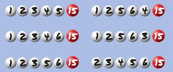 números en el formulario sistemático