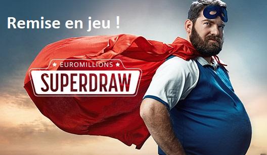 Remise en jeu du Super Jackpot EuroMillions