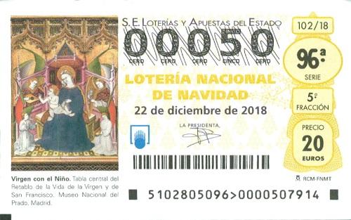 西班牙圣诞彩票开始销售了!