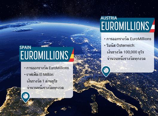 ลอตเตอรี่ EuroMillions สามตัว - คุณควรจะเล่นตัวไหนดี?