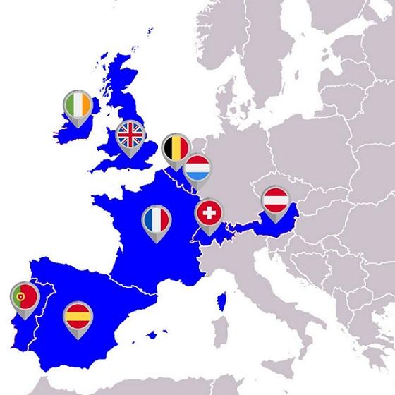 EuroMillionen Teilnehmerländer