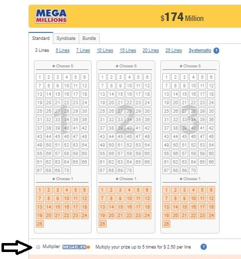 What Is The Mega Millions Megaplier Thelotter