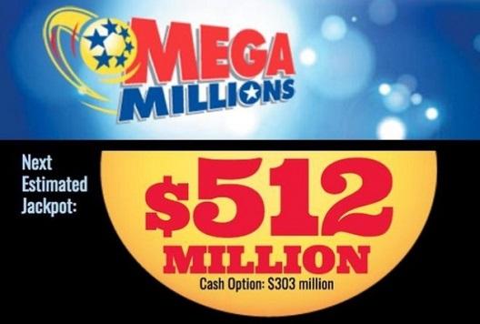 Крупнейшие джекпоты в историии лотереи Mega Millions