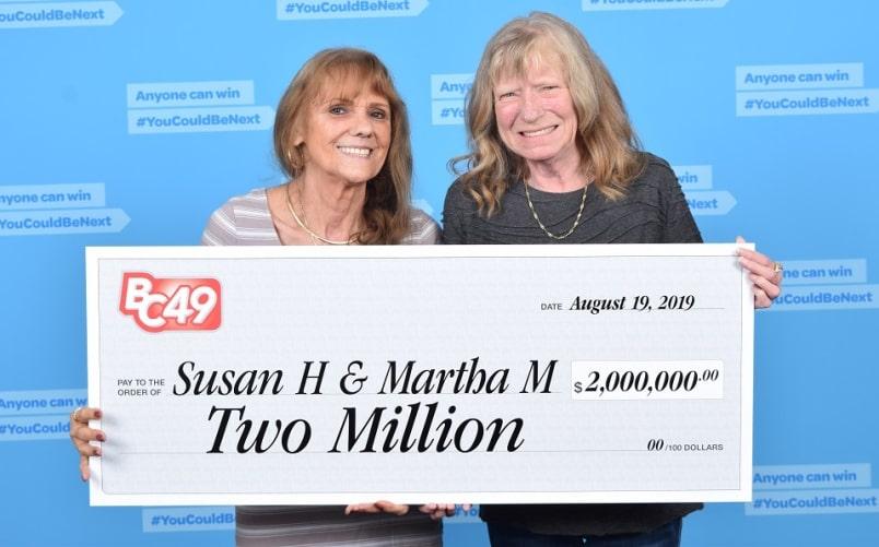 Widow Wins CA$2 Million With Her Best Friend