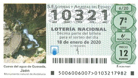 Инфо о Lotería Nacional Extra