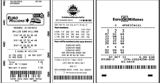 Билет Евромиллионов