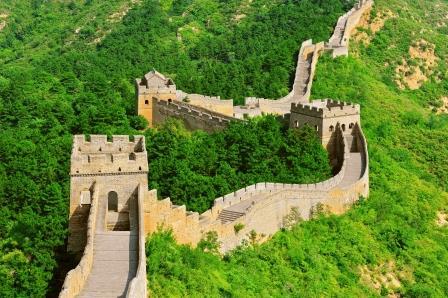 La Gran Muralla China construida por loterías
