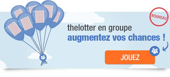 Jouer au loto en groupe sur theLotter