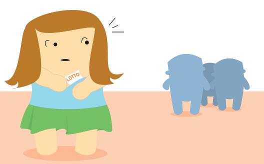 Brittiläinen koulutyttö piilottaa jättipotin voittavan kupongin rintaliiveihinsä