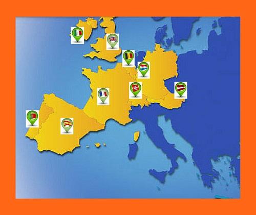Países participantes en EuroMillones