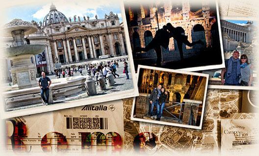 Tombolanyertesünk élményei a római vakációjáról