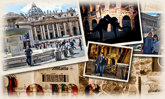 Online Raffle Winner's Roman Holiday Experience