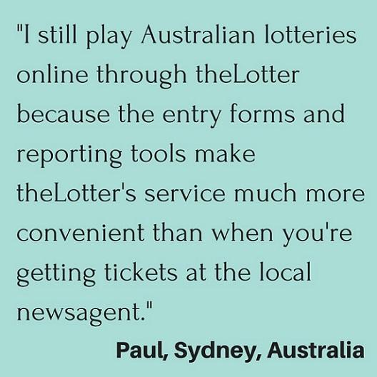 Online Lottery Raffle Winner Quote