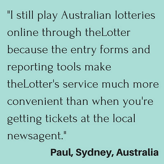 Online Lottery Raffle Winner Quote