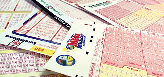 No juegue a la lotería en una tienda