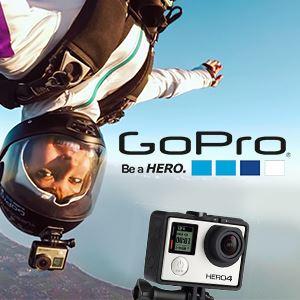 Ganhe uma câmara GoPro HERO4