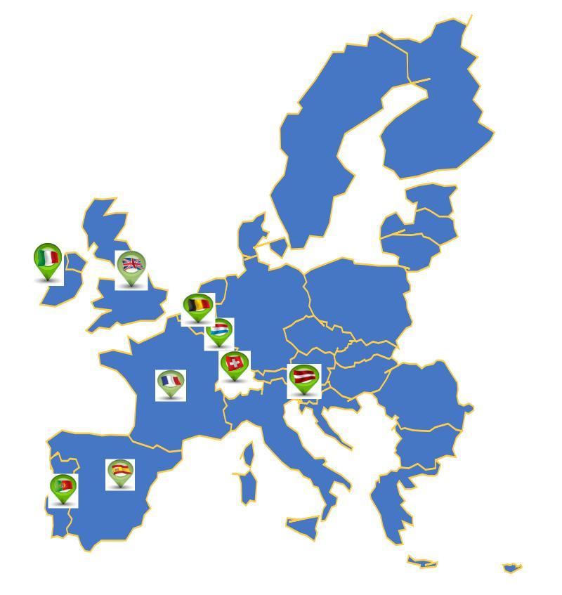pays qui participent à l'EuroMillions