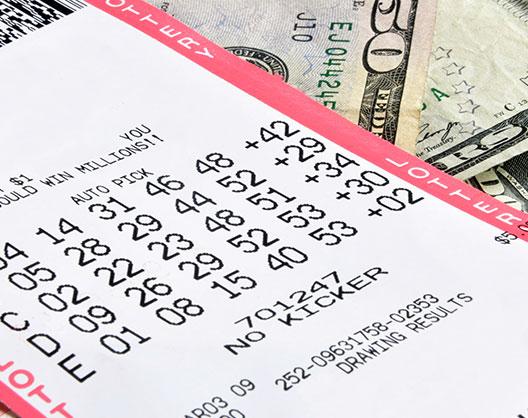 avoid theft of lottery tickets