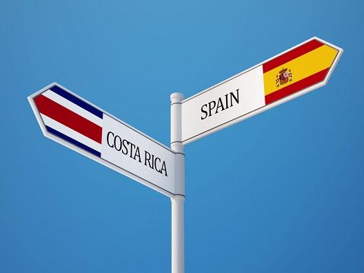 Spain Costa Rica