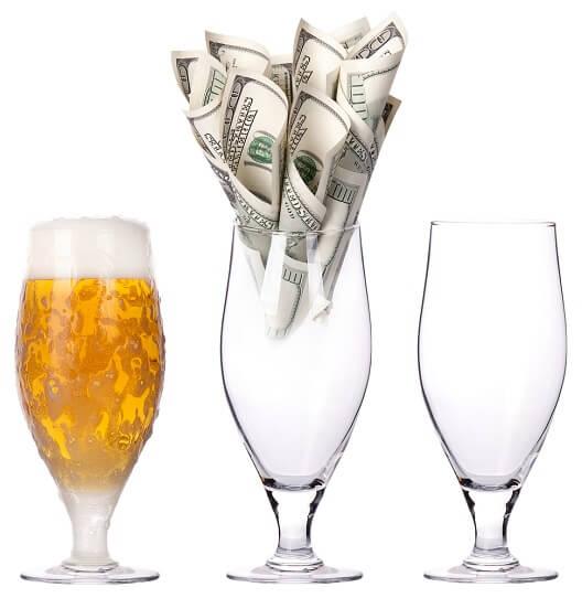La lotería de la cerveza